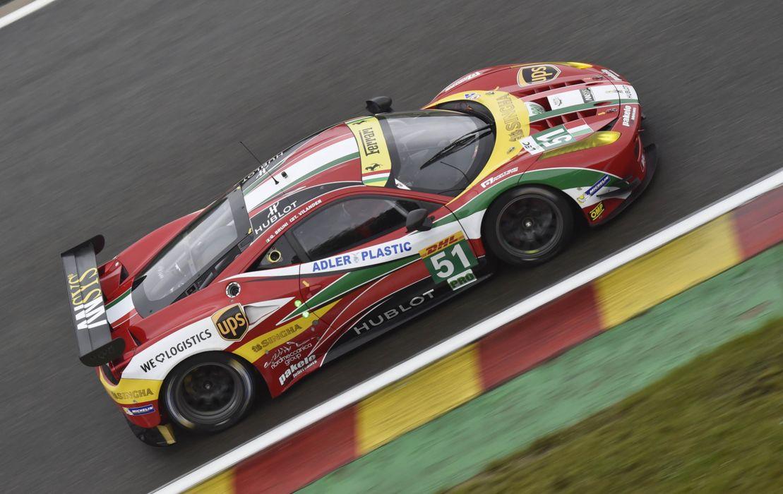2014 WEC 6 Heures de SPA-Francorchamps Car Race Belgium Racing AF Corse Ferrari 458 GTE 2 4000x2526 wallpaper