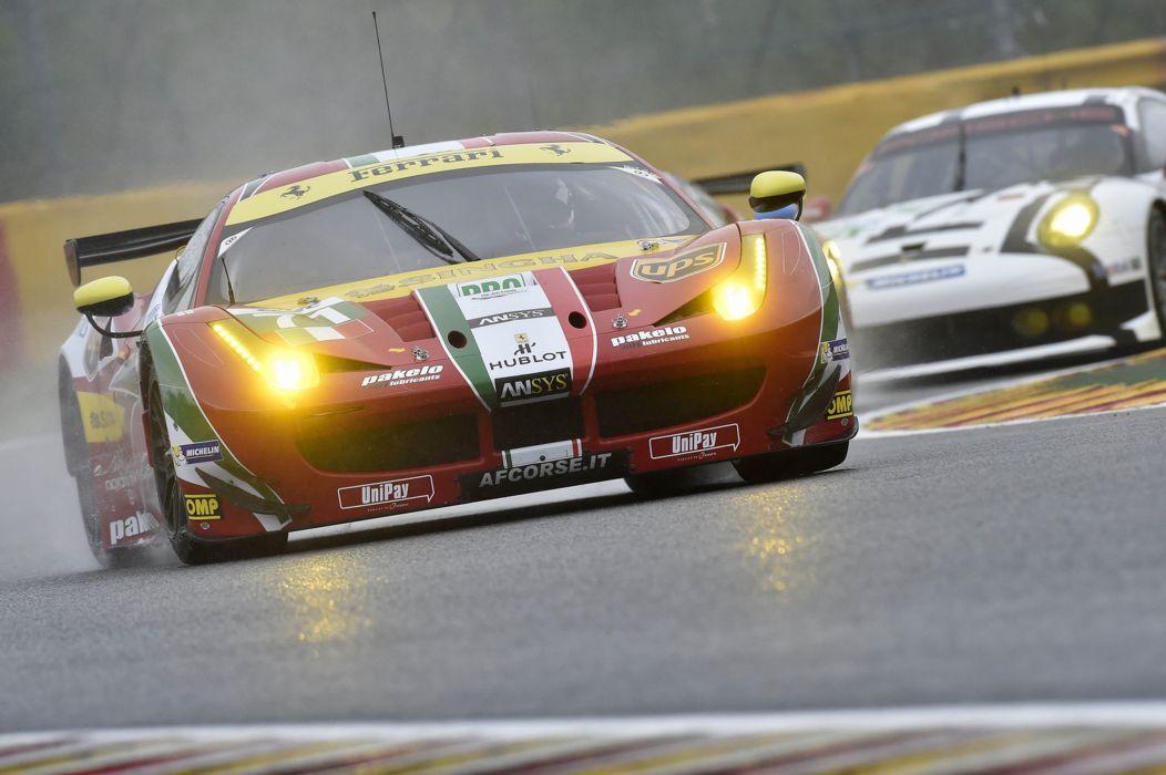 2014 WEC 6 Heures de SPA-Francorchamps Car Race Belgium Racing AF Corse Ferrari 458 GTE 4 4000x2661 wallpaper