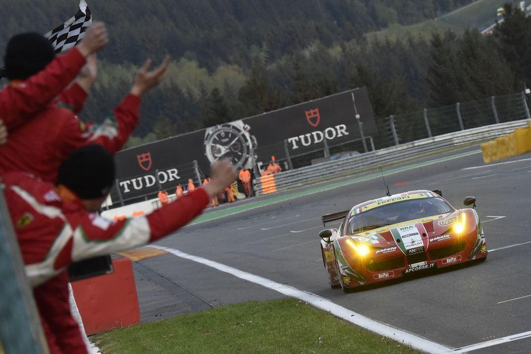 2014 WEC 6 Heures de SPA-Francorchamps Car Race Belgium Racing AF Corse Ferrari 458 GTE 3 4000x2667 wallpaper