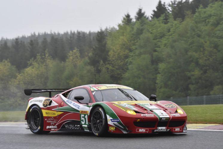 2014 WEC 6 Heures de SPA-Francorchamps Car Race Belgium Racing AF Corse Ferrari 458 GTE 4000x2682 wallpaper