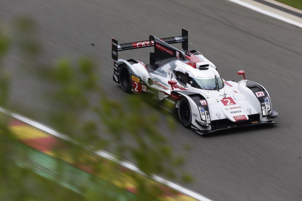 2014 WEC 6 Heures de SPA-Francorchamps Car Race Belgium Racing Audi Sport Team Joest 2014 Audi R18 e-tron quattro LMP1 5 4000x2667 wallpaper