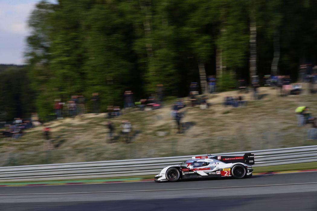 2014 WEC 6 Heures de SPA-Francorchamps Car Race Belgium Racing Audi Sport Team Joest 2014 Audi R18 e-tron quattro LMP1 4 4000x2667 wallpaper