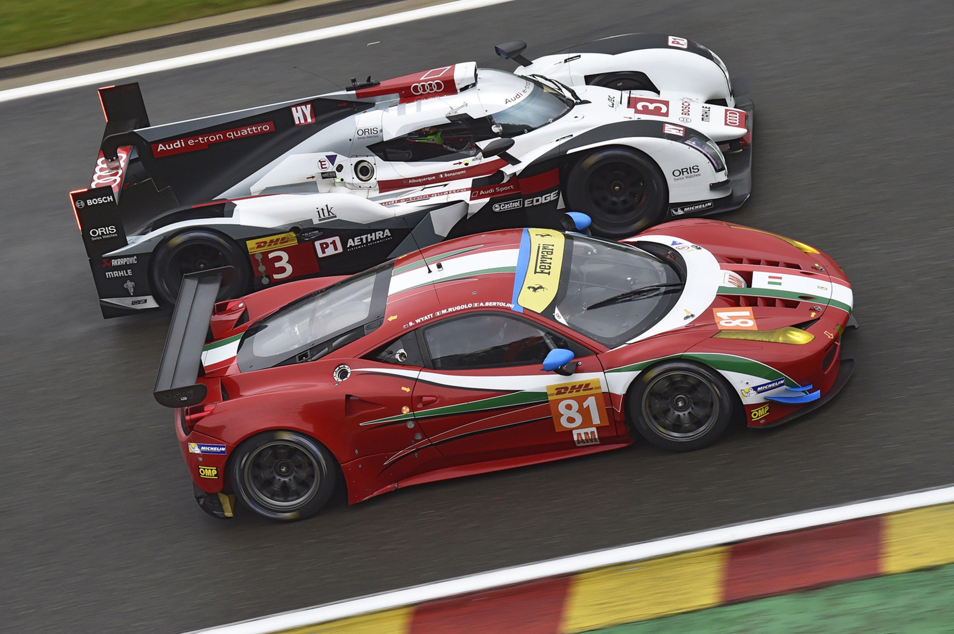 2014 Wec 6 Heures De Spa Francorchamps Car Race Belgium