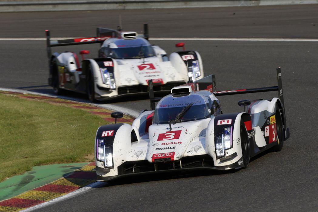 2014 WEC 6 Heures de SPA-Francorchamps Car Race Belgium Racing Audi Sport Team Joest 2014 Audi R18 e-tron quattro LMP1 4000x2669 wallpaper
