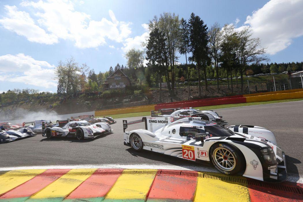 2014 WEC 6 Heures de SPA-Francorchamps Car Race Belgium Racing Porsche Team 2014 Porsche 919 Hybrid 2 4000x2667 wallpaper