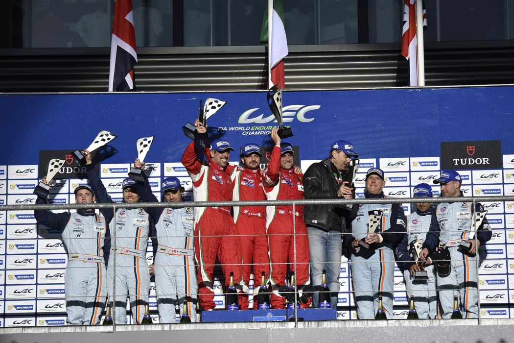 2014 WEC 6 Heures de SPA-Francorchamps Car Race Belgium Racing LM-GTE Pro Podium 4000x2667 wallpaper