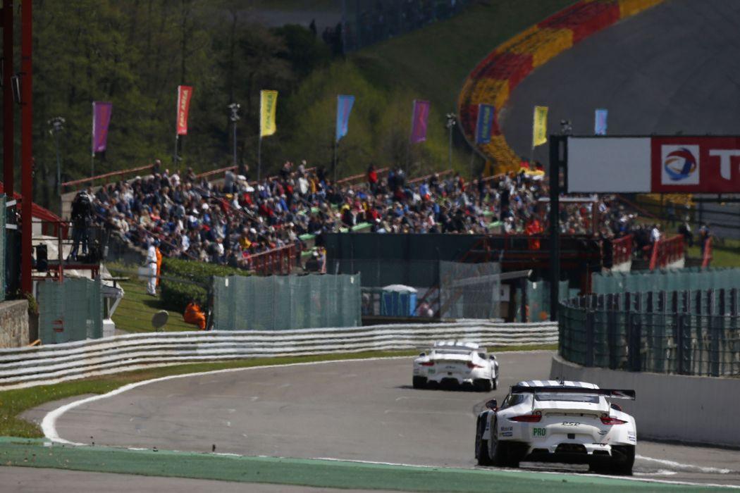 2014 WEC 6 Heures de SPA-Francorchamps Car Race Belgium Racing Porsche Team Manthey Porsche 911 RSR 2 4000x2667 wallpaper