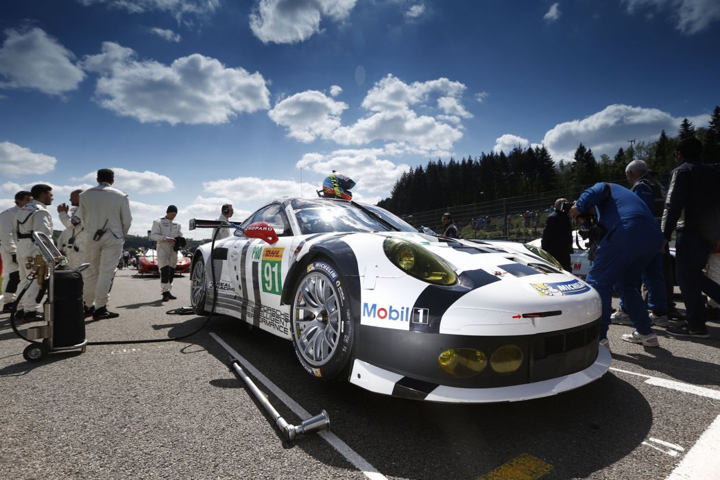 2014 WEC 6 Heures de SPA-Francorchamps Car Race Belgium Racing Porsche Team Manthey Porsche 911 RSR Start 4000x2667 wallpaper