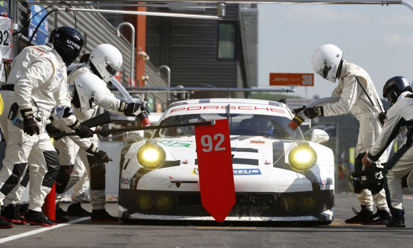 2014 WEC 6 Heures de SPA-Francorchamps Car Race Belgium Racing Porsche Team Manthey Porsche 911 RSR Box 4000x2406 wallpaper