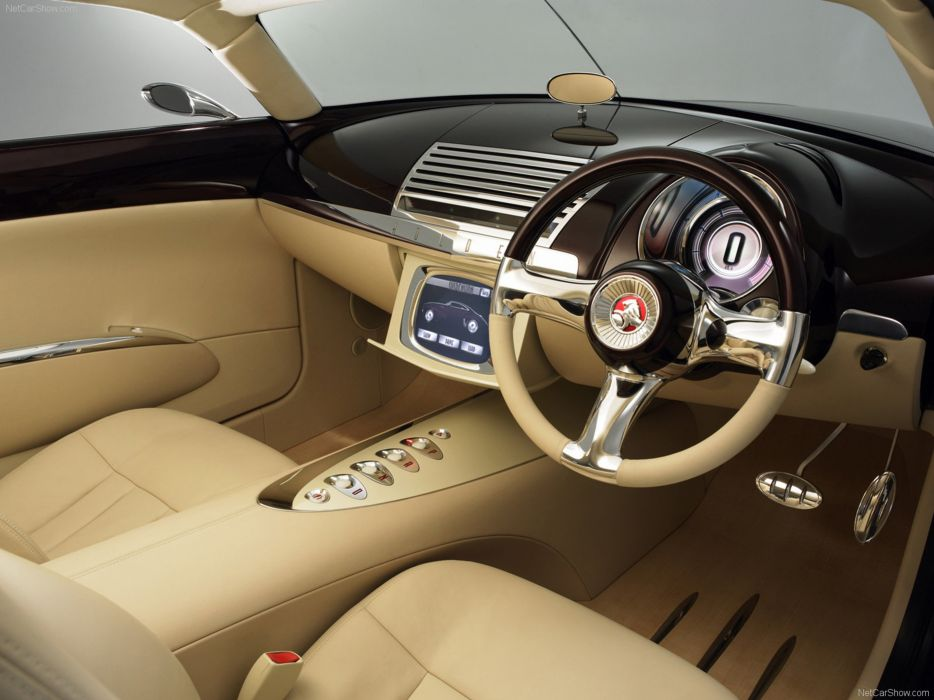 Holden Efijy Concept Interior Australian Car Supercar 2005 wallpaper 4000x3000 wallpaper