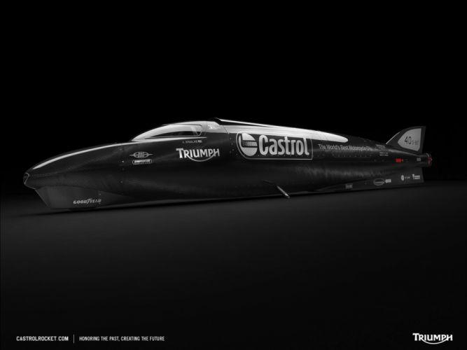 Castrol Rocket Triumph Supercar Speed Record Car 4000x3000 wallpaper