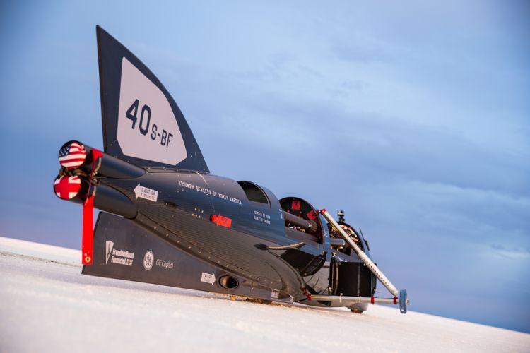 Castrol Rocket Triumph Supercar Speed Record Car wallpaper