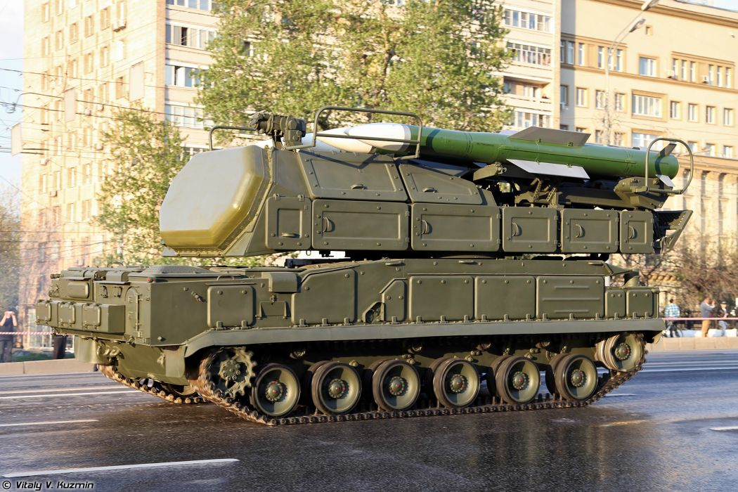 April-29th rehearsal of 2014 Victory Day Parade in Moscow Russia Red Star Russian Military Army 9A317 TELAR for Buk-M2 air defence system anti-aircraft missile 2 4000x2667 wallpaper
