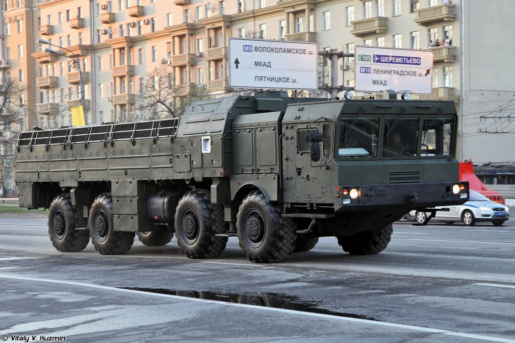 April-29th rehearsal of 2014 Victory Day Parade in Moscow Russia Red Star Russian Military Army 9T250 loading vehicle for Iskander-M system 2 4000x2667 wallpaper