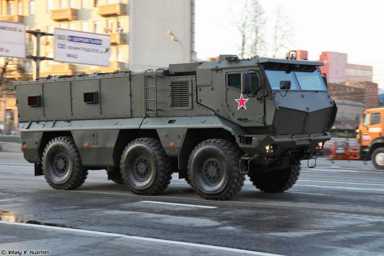 April-29th rehearsal of 2014 Victory Day Parade in Moscow Russia Red Star Russian Military Army KAMAZ-63968 Typhoon-K MRAP vehicle 2 4000x2667 wallpaper