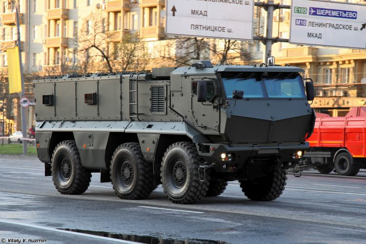April-29th rehearsal of 2014 Victory Day Parade in Moscow Russia Red Star Russian Military Army KAMAZ-63968 Typhoon-K MRAP vehicle 3 4000x2667 wallpaper