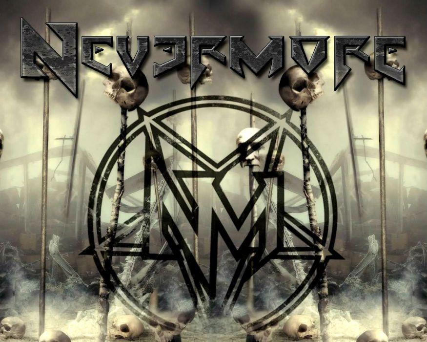 NEVERMORE progressive thrash power metal heavy (1) wallpaper