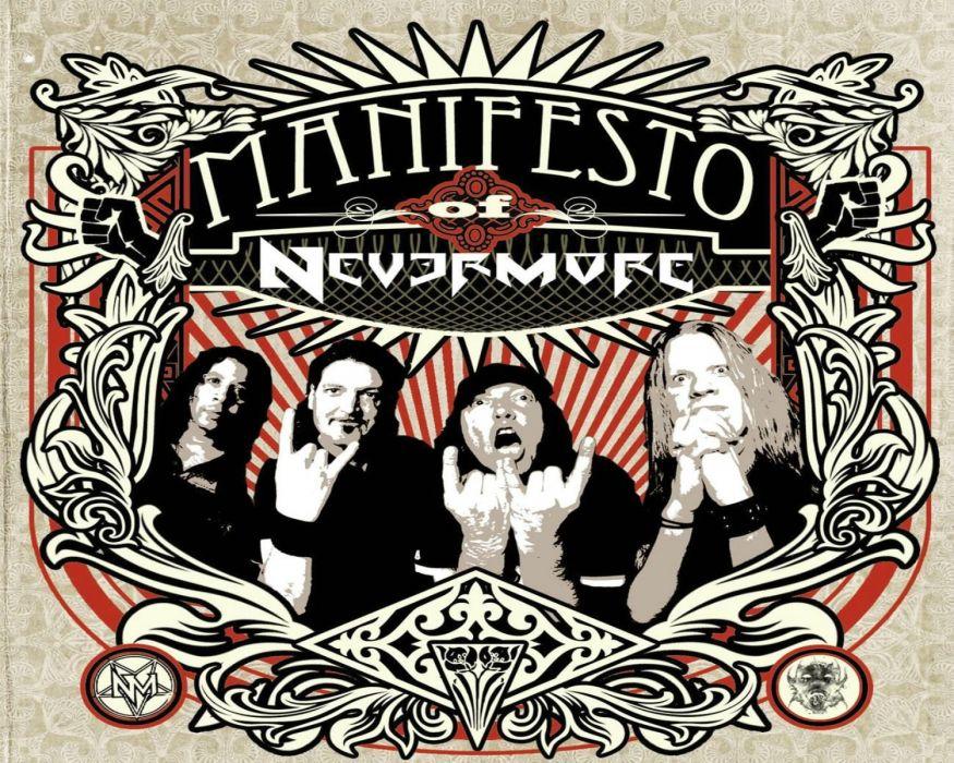 NEVERMORE progressive thrash power metal heavy (11) wallpaper