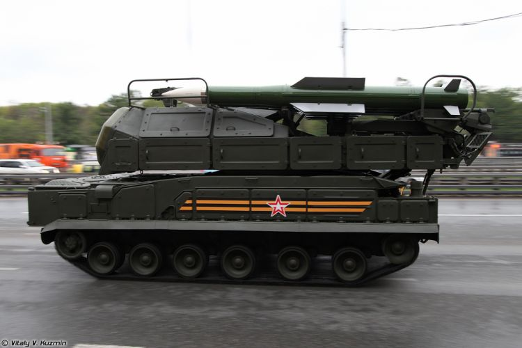 May-5th rehearsal of 2014 Victory Day Parade in Moscow Russia Red Star Russian Military Army 9A317 TELAR for Buk-M2 air defence system anti-aircraft missile 2 4000x2667 wallpaper