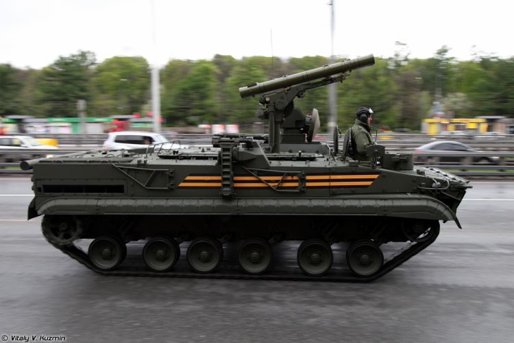 May-5th rehearsal of 2014 Victory Day Parade in Moscow Russia Red Star Russian Military Army 9P157-2 combat vehicle from 9K123 Khrizantema-S anti-tank missile system 3 4000x2667 wallpaper