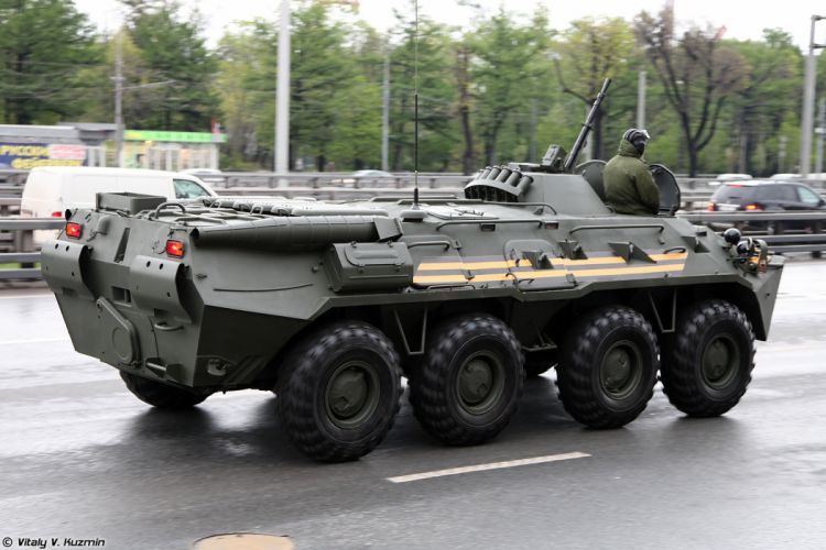 May-5th rehearsal of 2014 Victory Day Parade in Moscow Russia Red Star Russian Military Army BTR-80 APC Armored 3 4000x2667 wallpaper