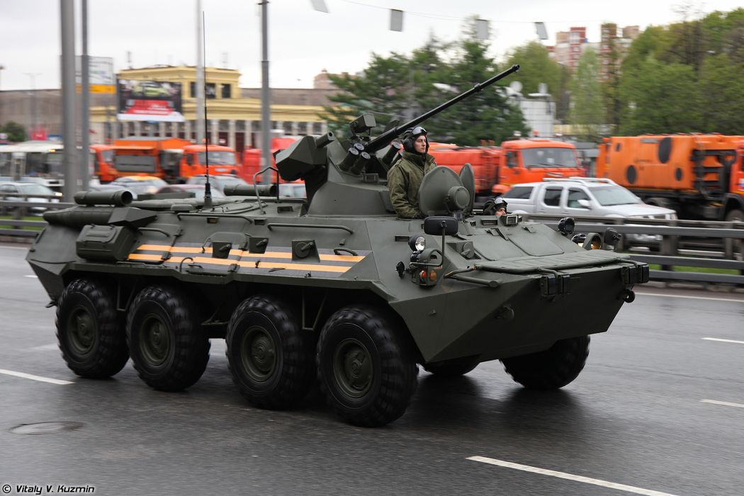 May-5th rehearsal of 2014 Victory Day Parade in Moscow Russia Red Star Russian Military Army BTR-82A APC Armored 2 4000x2667 wallpaper