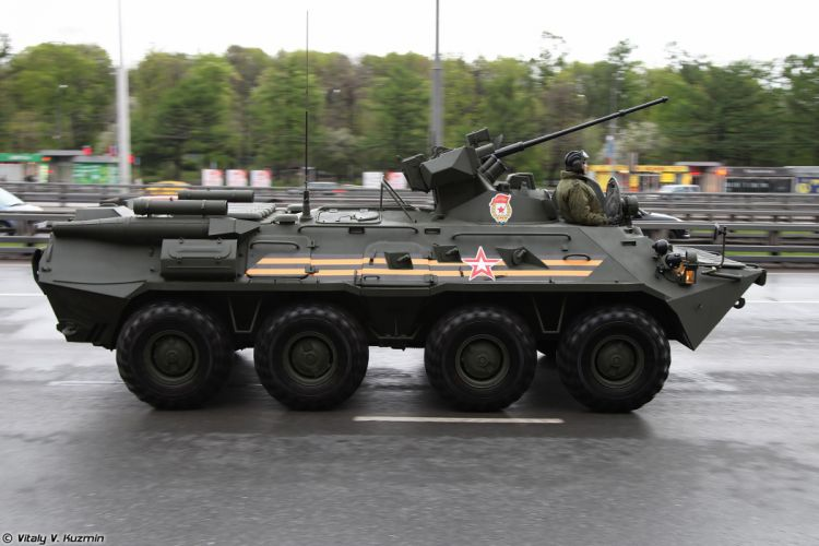 May-5th rehearsal of 2014 Victory Day Parade in Moscow Russia Red Star Russian Military Army BTR-82A APC Armored 3 4000x2667 wallpaper