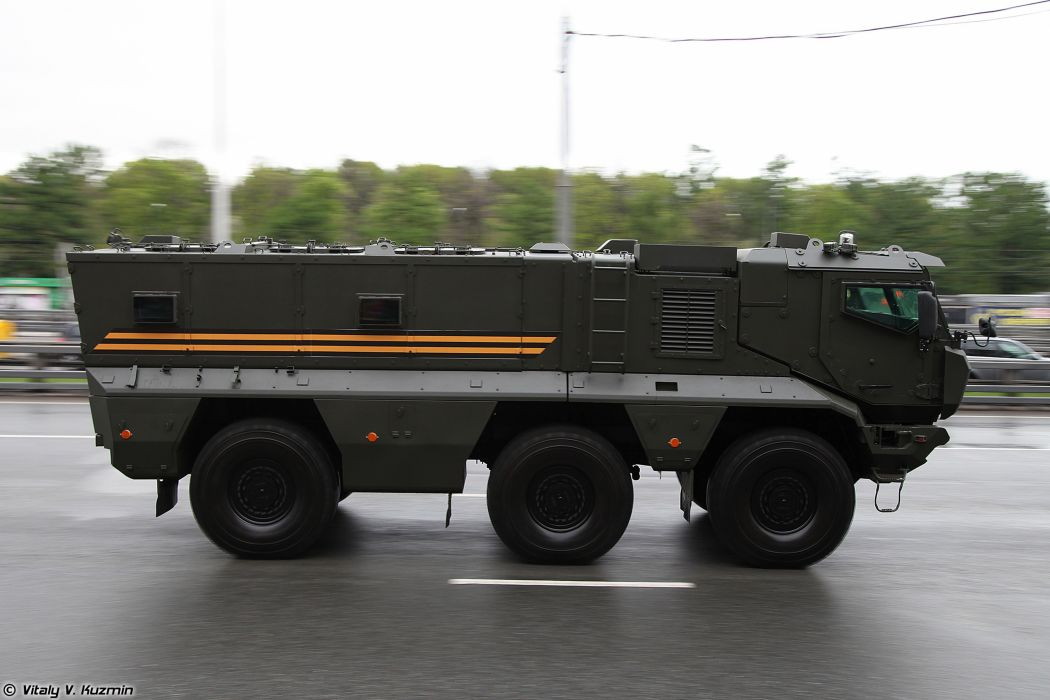 May-5th rehearsal of 2014 Victory Day Parade in Moscow Russia Red Star Russian Military Army KAMAZ-63968 Typhoon-K Armored Truck 4 4000x2667 wallpaper