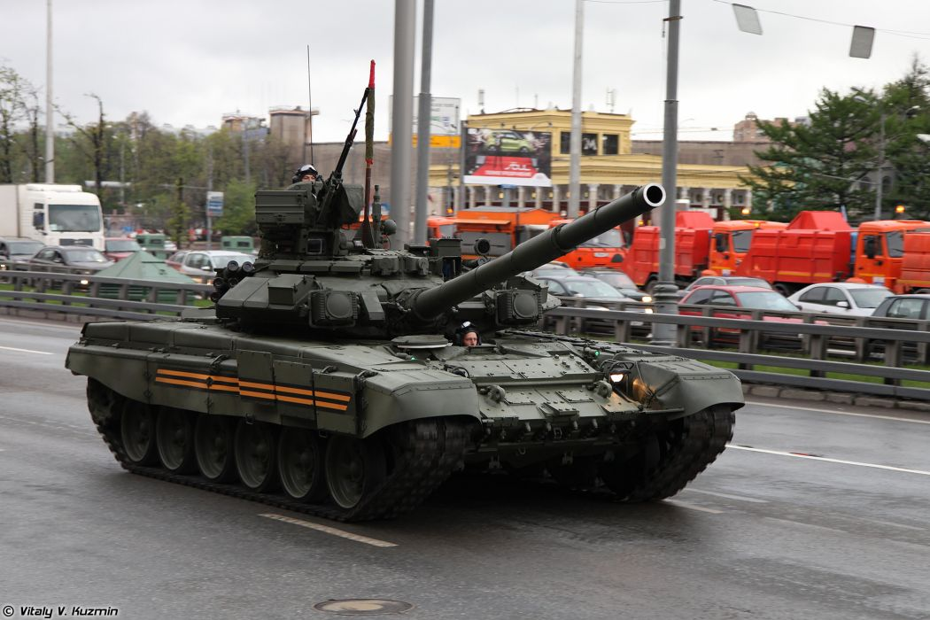 May-5th rehearsal of 2014 Victory Day Parade in Moscow Russia Red Star Russian Military Army T-90A main-battle-tank MBT 3 4000x2667 wallpaper