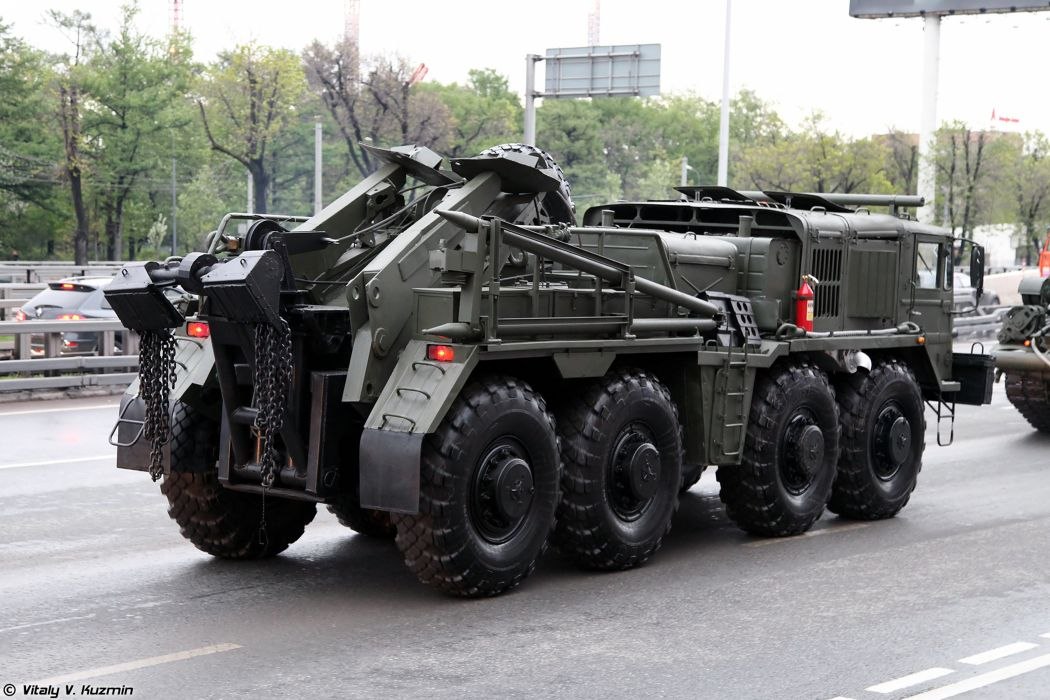 May-5th rehearsal of 2014 Victory Day Parade in Moscow Russia Red Star Russian Military Army Wheeled evacuation carrier KET-T truck 2 4000x2667 wallpaper
