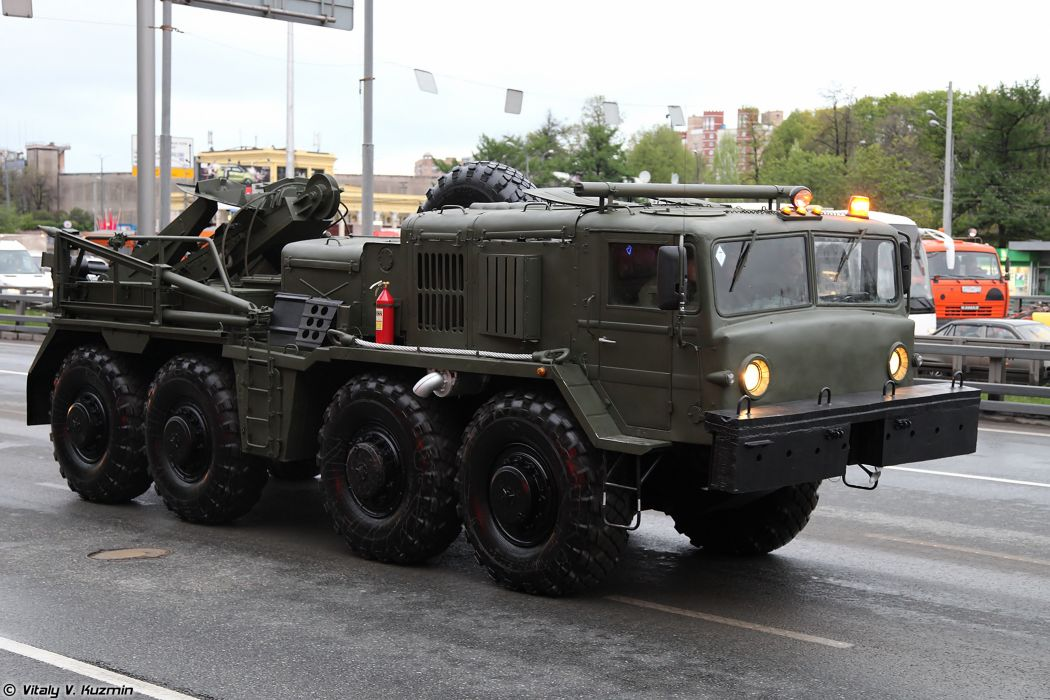 May-5th rehearsal of 2014 Victory Day Parade in Moscow Russia Red Star Russian Military Army Wheeled evacuation carrier KET-T truck 4000x2667 wallpaper