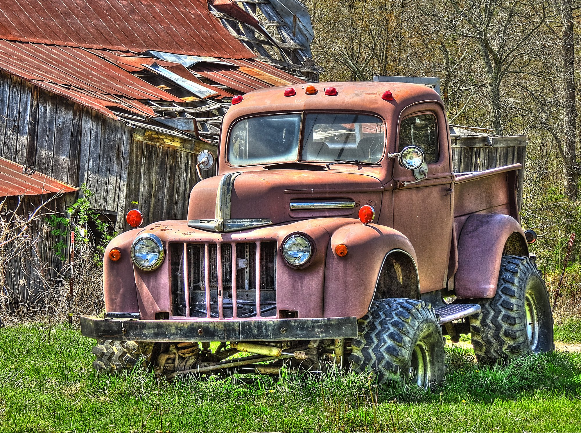 Rusty Old Truck 1940 039 S Ford Truck Wallpaper 2000x1492