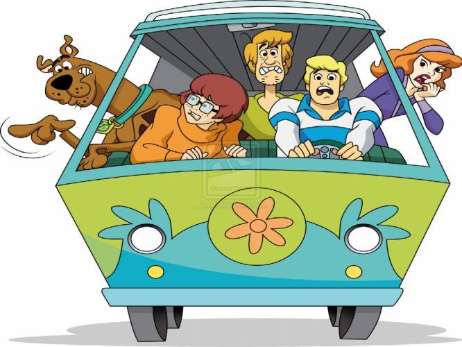 SCOOBY DOO adventure comedy family cartoon (6) wallpaper
