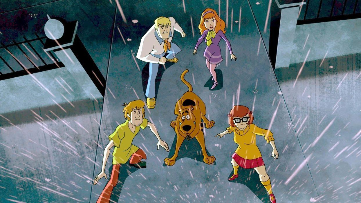 SCOOBY DOO adventure comedy family cartoon (27) wallpaper
