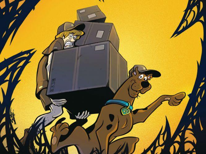 SCOOBY DOO adventure comedy family cartoon (18) wallpaper