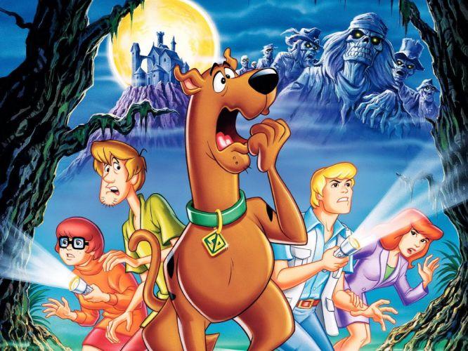 SCOOBY DOO adventure comedy family cartoon (34) wallpaper