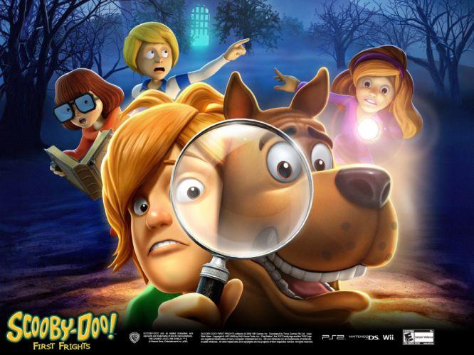 SCOOBY DOO adventure comedy family cartoon (31) wallpaper
