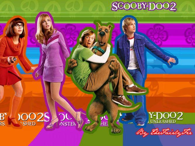 SCOOBY DOO adventure comedy family cartoon (71) wallpaper