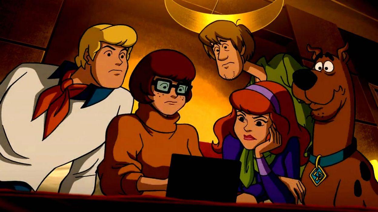 SCOOBY DOO adventure comedy family cartoon (87) wallpaper