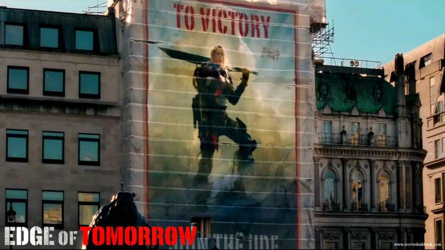EDGE OF TOMORROW action sci-fi warrior (8) wallpaper