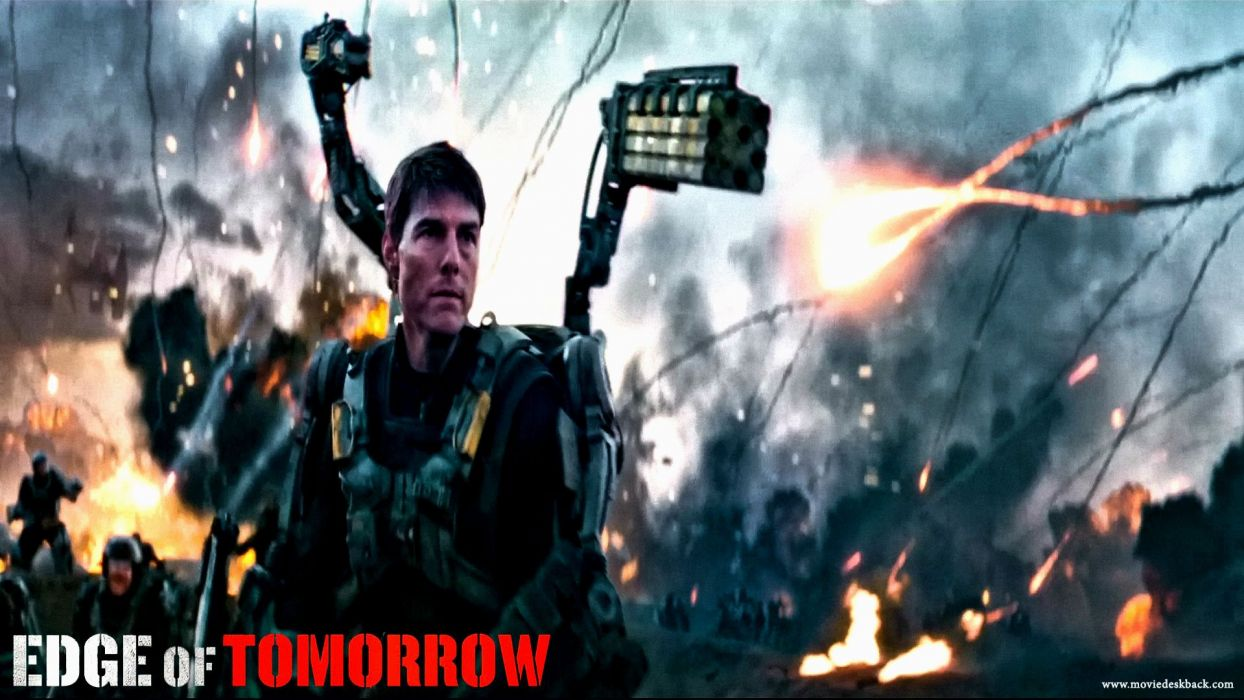 EDGE OF TOMORROW action sci-fi warrior (3) wallpaper