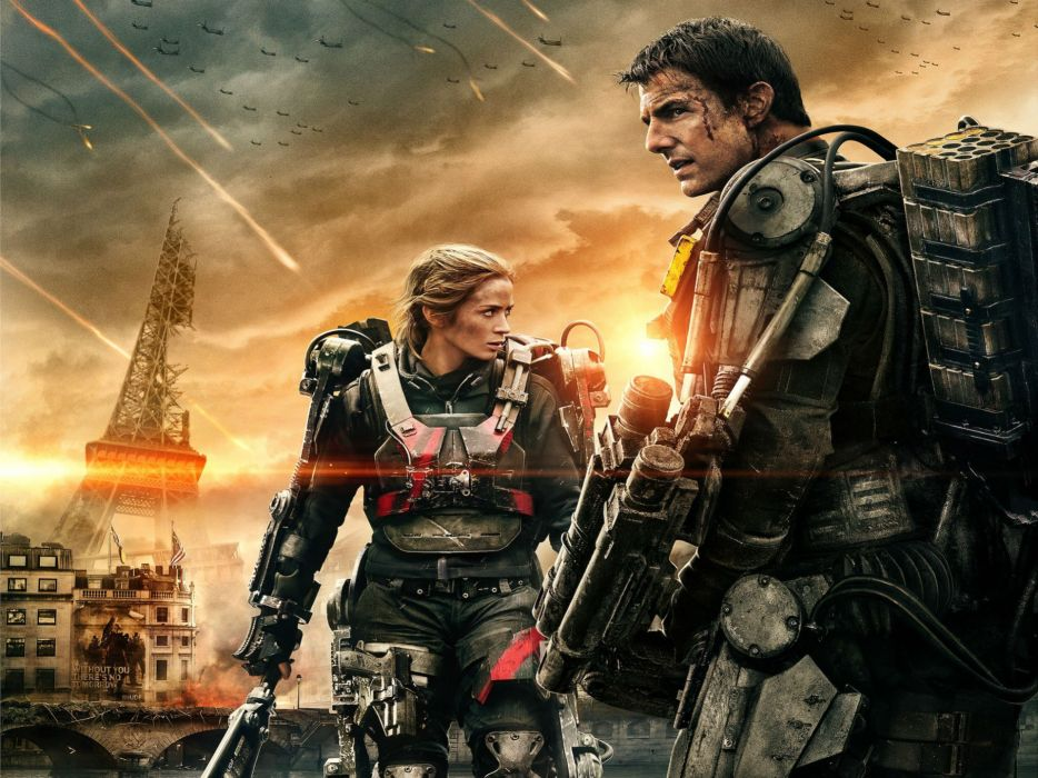 EDGE OF TOMORROW action sci-fi warrior (12) wallpaper