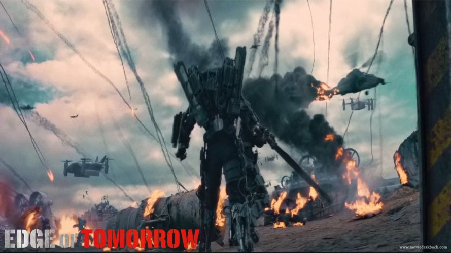 EDGE OF TOMORROW action sci-fi warrior (17) wallpaper