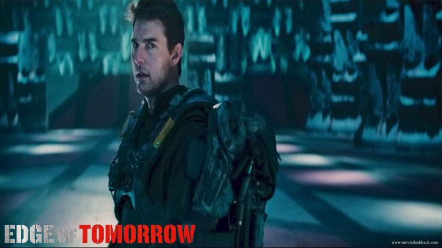 EDGE OF TOMORROW action sci-fi warrior (23) wallpaper