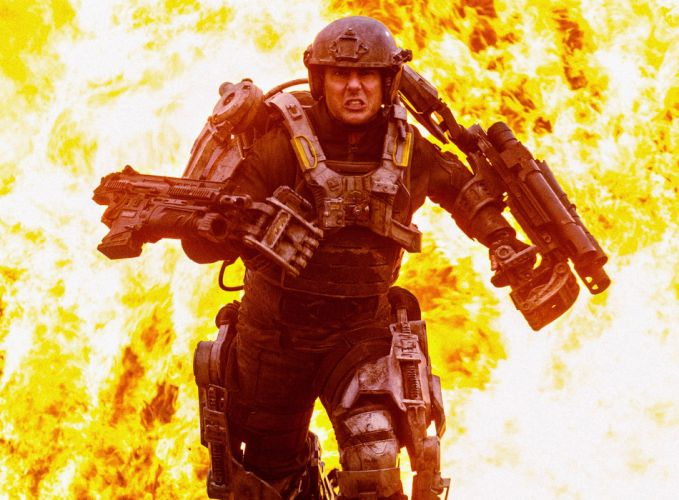 EDGE OF TOMORROW action sci-fi warrior (38) wallpaper