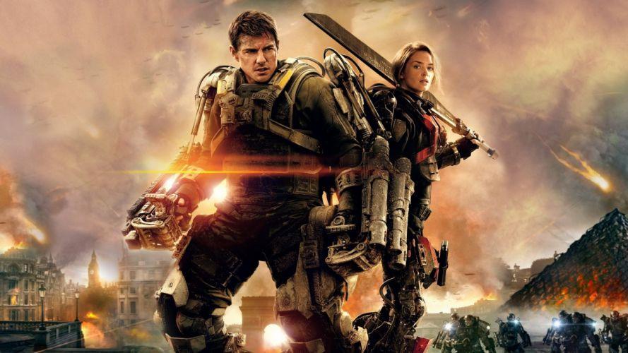 EDGE OF TOMORROW action sci-fi warrior (43) wallpaper