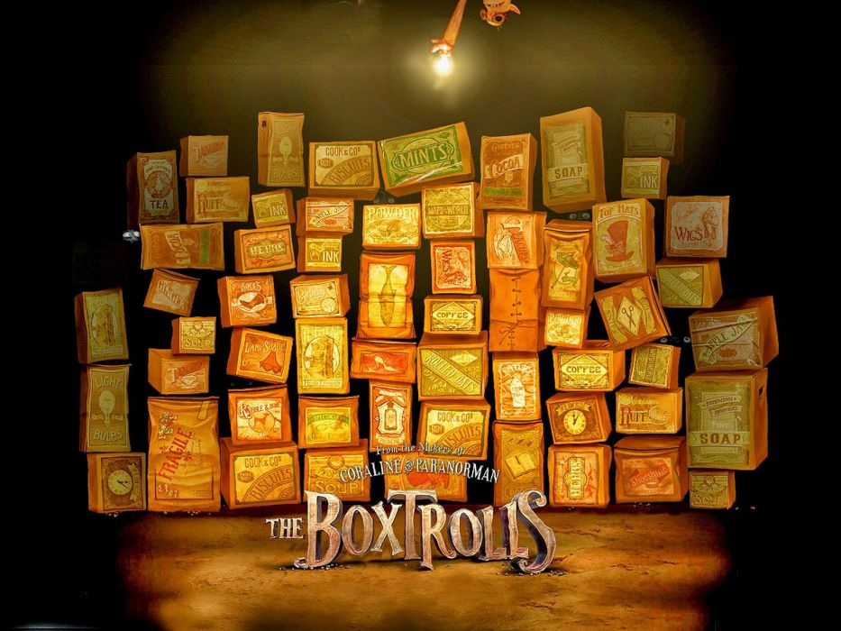 THE BOXTROLLS animation family comedy cartoon movie film adventure (21) wallpaper
