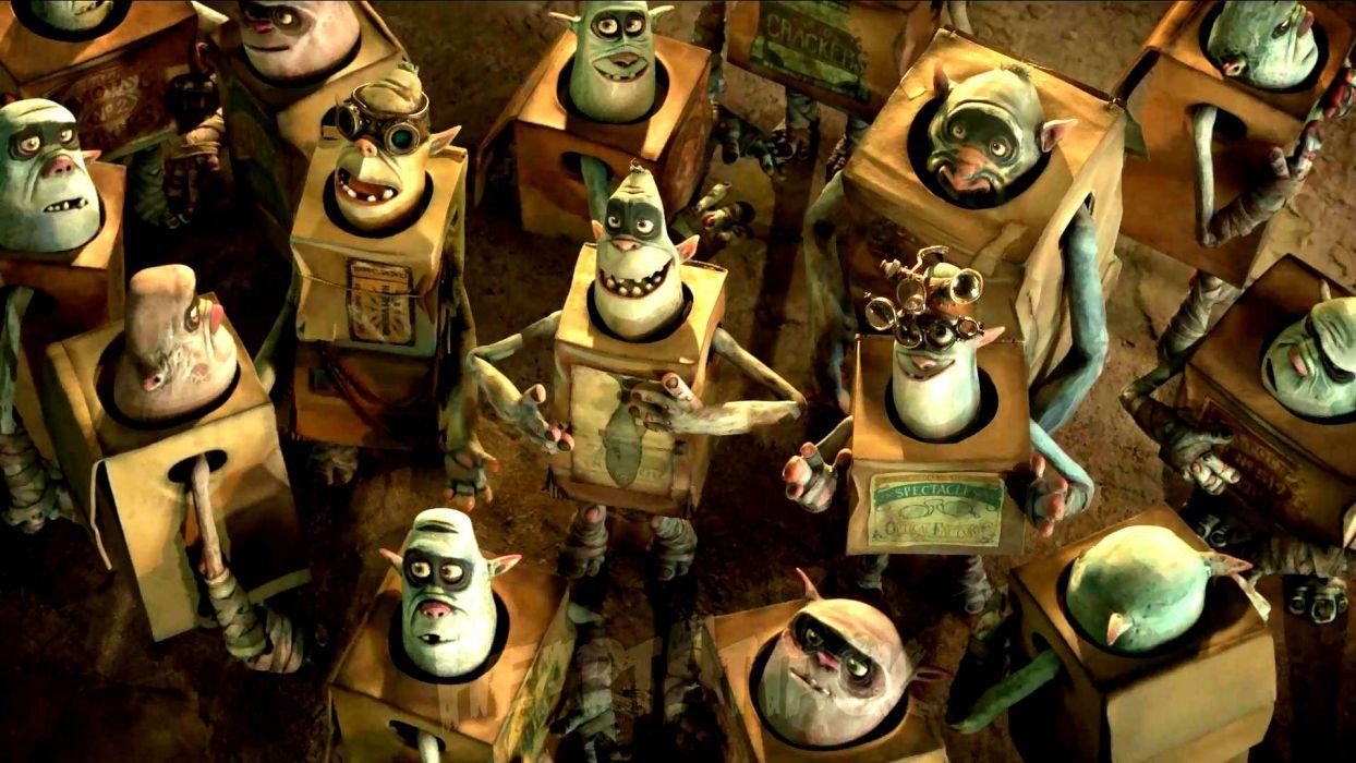 THE BOXTROLLS animation family comedy cartoon movie film adventure (23) wallpaper