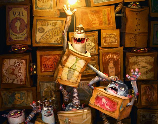 THE BOXTROLLS animation family comedy cartoon movie film adventure (24) wallpaper
