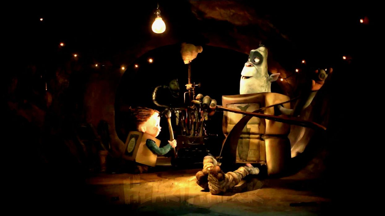 THE BOXTROLLS animation family comedy cartoon movie film adventure (32) wallpaper